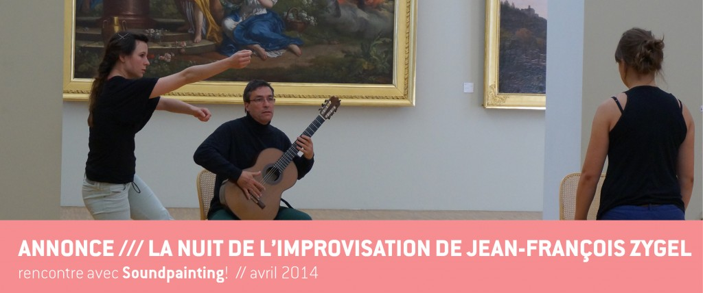 Annonce Soundpainting Nuit de l'impro - avril 2015