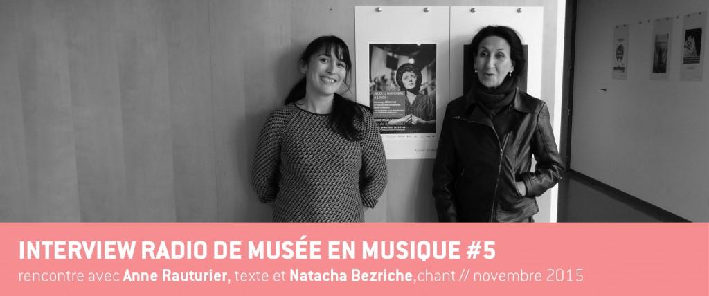 Visuel ITW Anne Rauturier et Natacha Bezriche 12112015