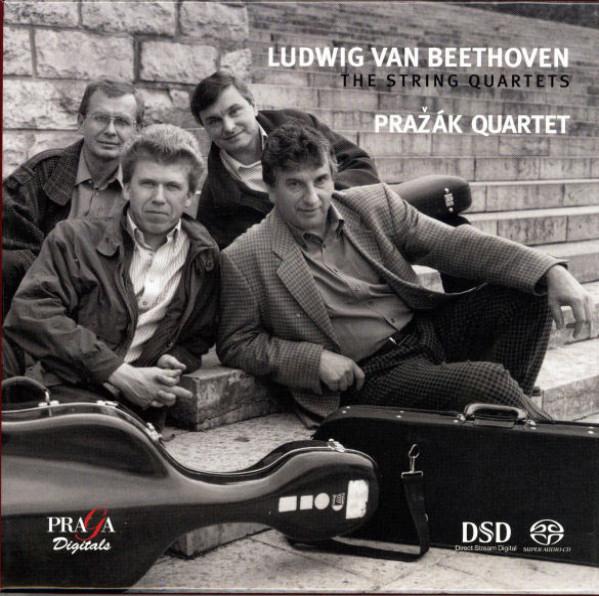 06.String Quartets de Ludwig Van Beethoven par le Quatuor Prazak