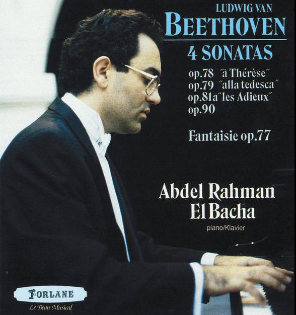 07.4 Sonates de Ludwig van Beethoven par Abdel Rahman El Bacha